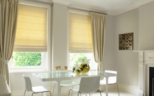 Roller Blinds Fabrication - Dining Area